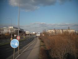 Umgebung des Lagers Torgauer Str. in Leipzig